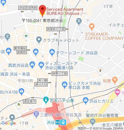 BUREAU_Shibuya_Map