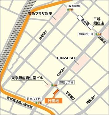 Ginza_8_map