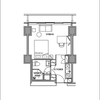ビュロー品川 Studio D 高層階