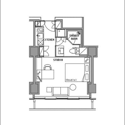 ビュロー品川 Studio E 高層階