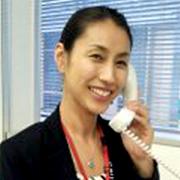 Kazumi Alford ( Sales team at Serviced apartment division)