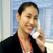 Kazumi Alford ( Sales team at Serviced apartment division)
