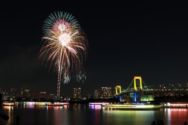 daiba-fireworks