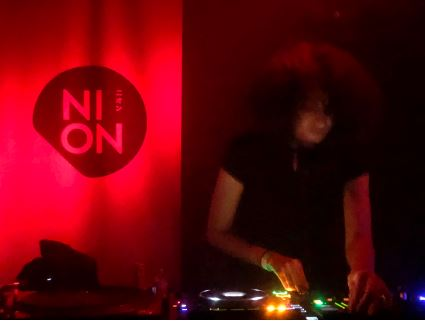 Sarah Farina DJing for NION presents Berlin x Tokyo ( Shibuya, Japan )
